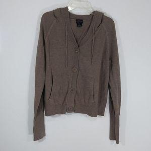 Torrid hoodie brown sweatshirt size 2